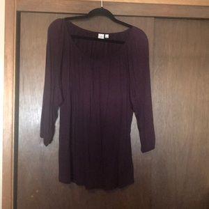 NWT Gap Purple Tunic